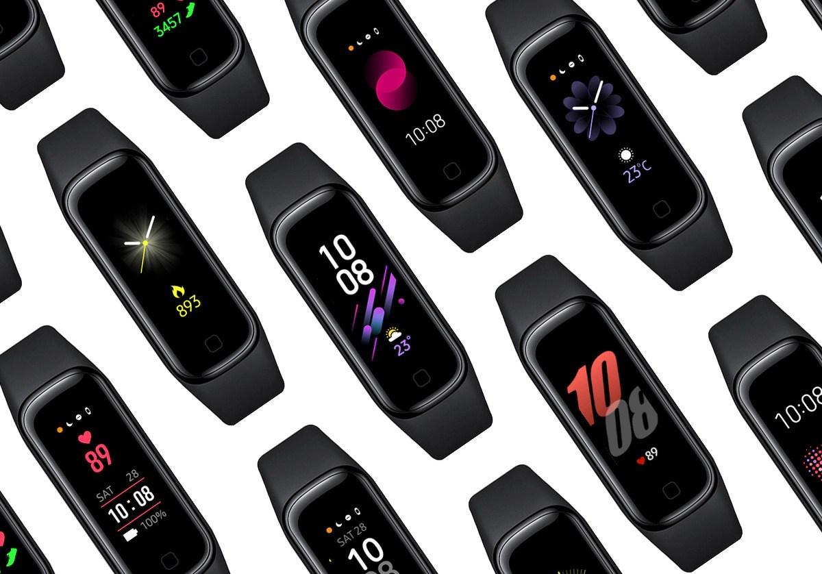Samsung Galaxy Fit 2 Watchfaces Header