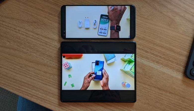 Samsung Galaxy Z Fold 2 Oneplus Nord