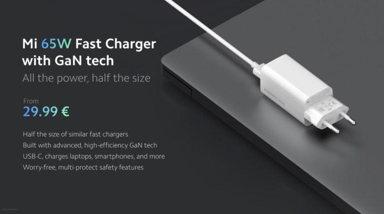 Xiaomi Gan Ladegerät 65 Watt 2
