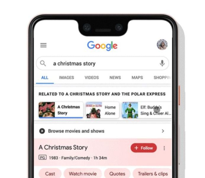 A Christmas Story Google