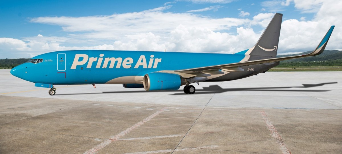 Amazon Prime Air Flugzeug Header