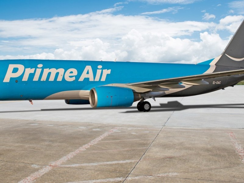 Amazon Prime Air Flugzeug Header