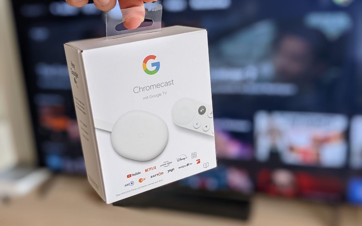 Google Chromecast 4 Google Tv