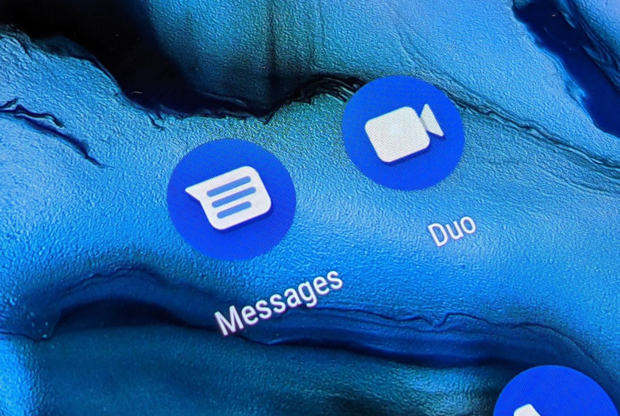 Google Messages Duo App Icons Head