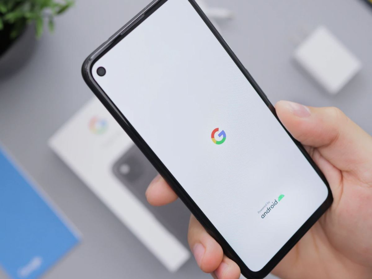 Google Pixel 4a Boot Android Head