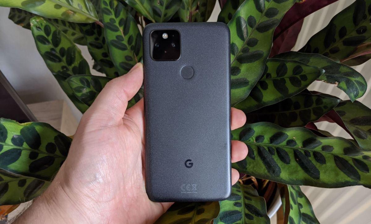 Google Pixel 5 Testbericht Rückseite