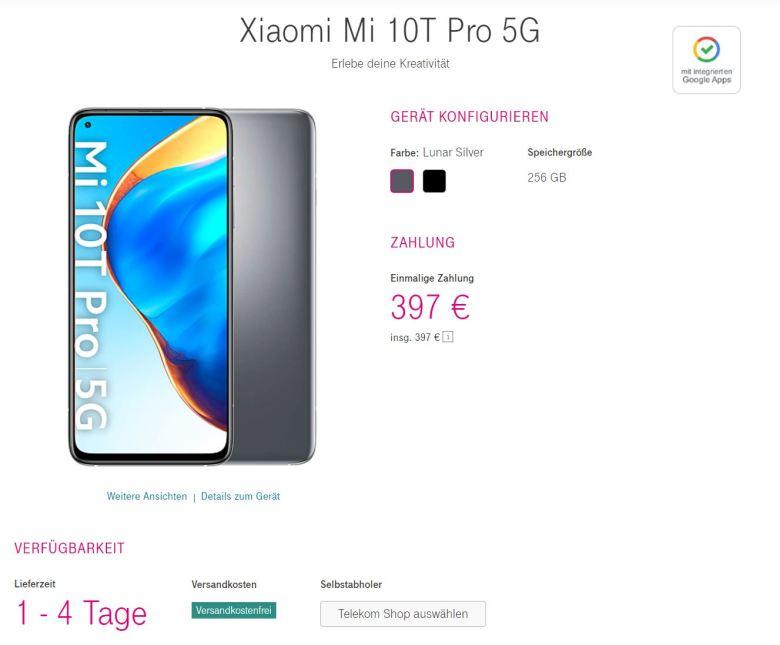 Mi 10t Po Telekom