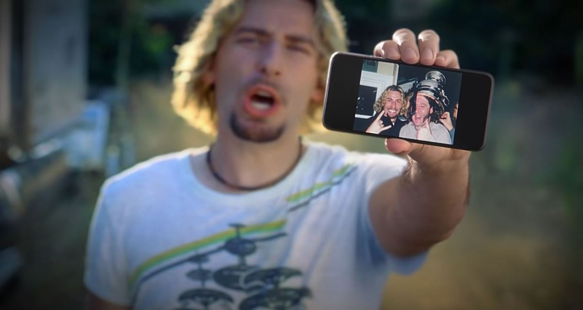 Google Fotos Kampagne Nickelback