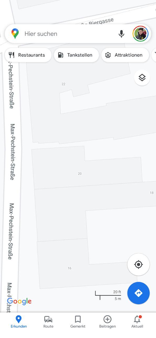 Google Maps Hausnummern