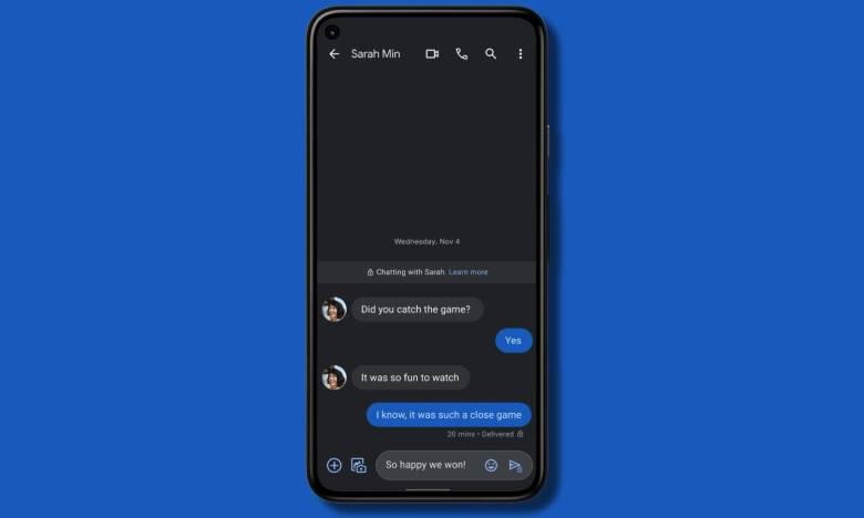 Google Messages Verschlüsselung