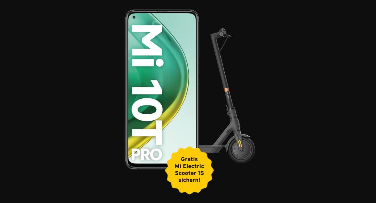 Xiaomi Mi 10t Pro Mit Roller Congstar