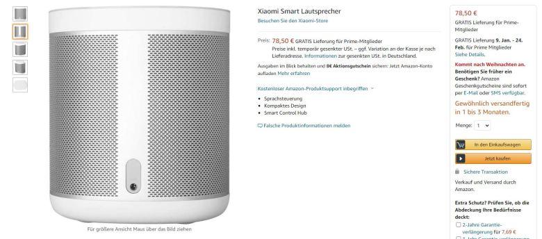 Xiaomi Smart Speaker Amazon