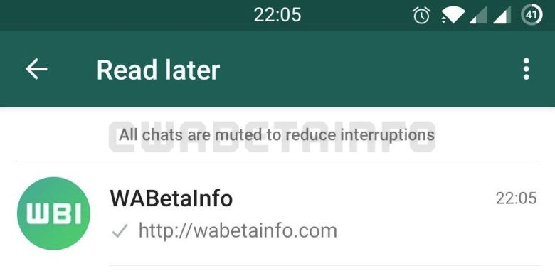 Read Later Whatsapp Muted Text Leak