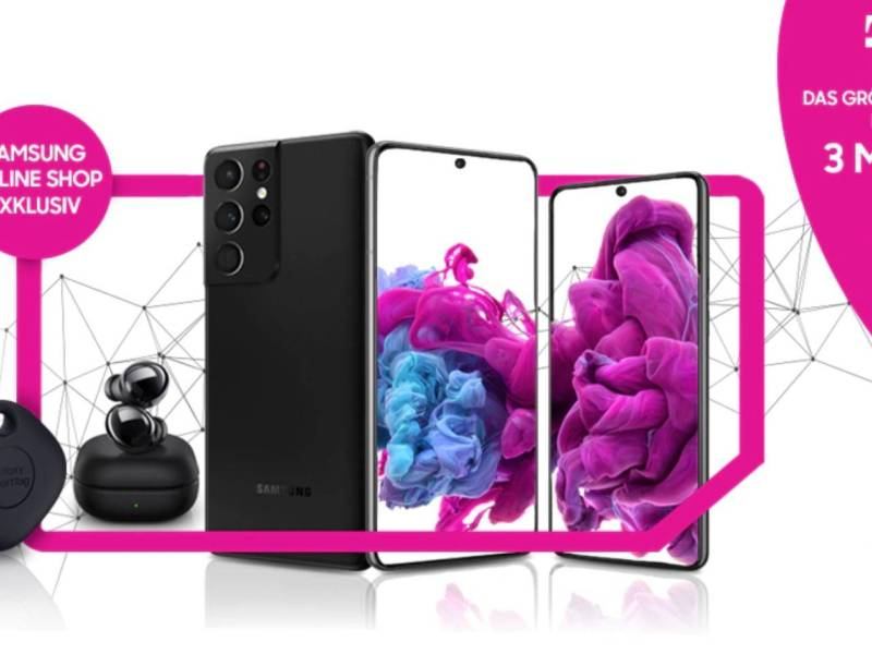 Samsung Galaxy S21 Telekom Aktion
