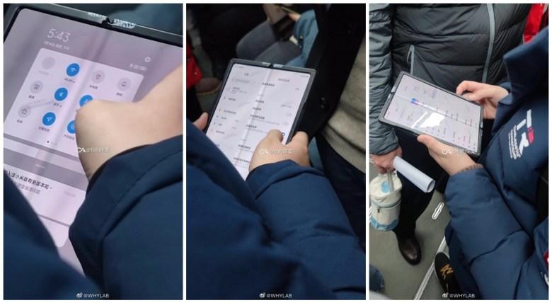 Xiaomi Fold Leak
