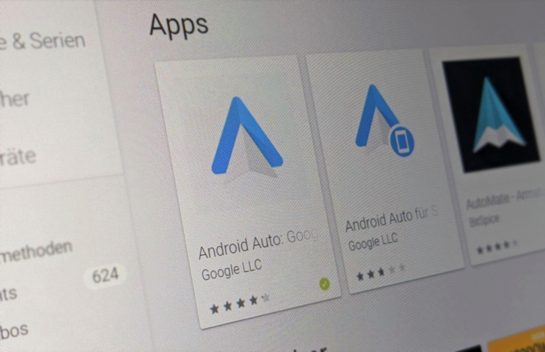 Android Auto in neuer Version verfügbar