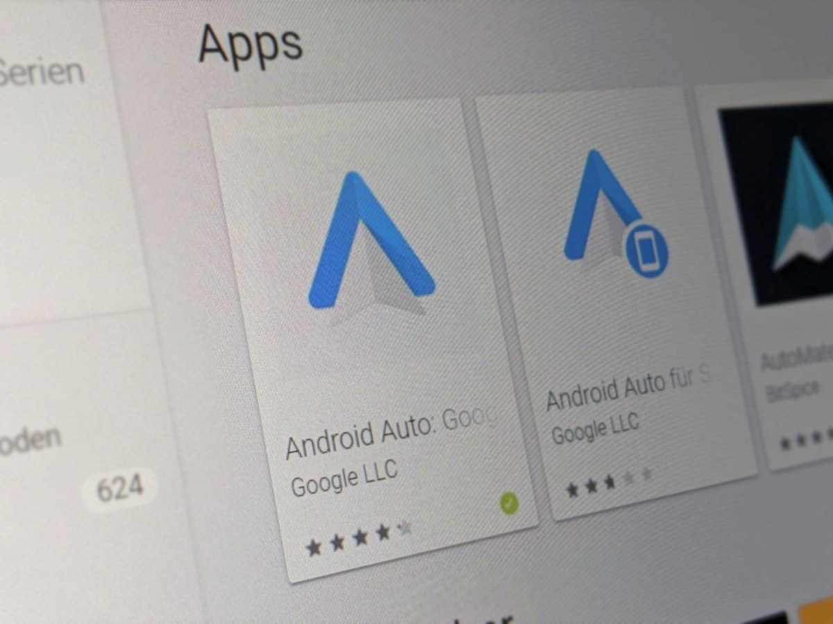 Android Auto Und Android Auto Telefonbildschirme Head