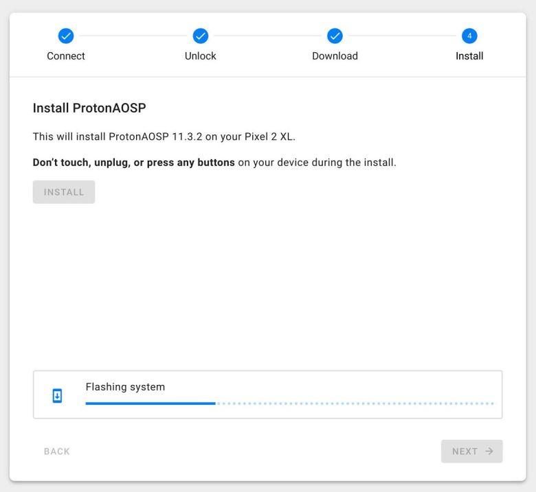 Aosp Installer Browser