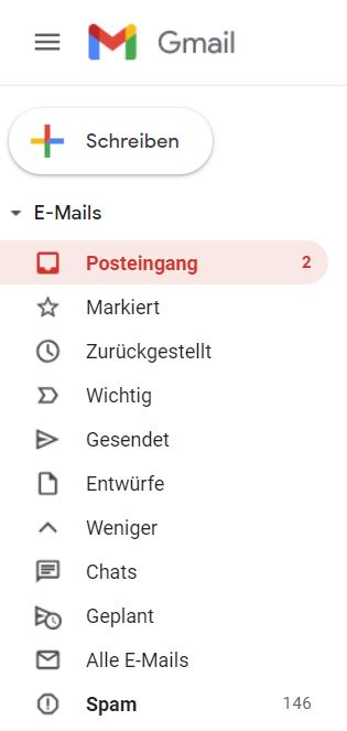 Gmail Icons Update Feb 2020