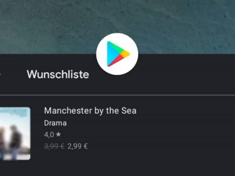 Google Play Store Wunschliste (1)
