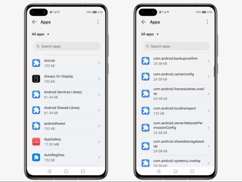 Harmonyos Beta Android Komponenten