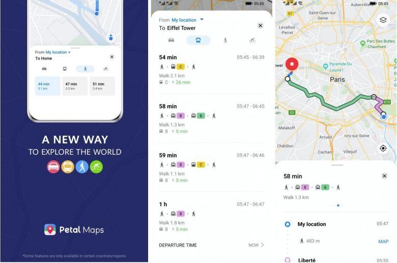 Huawei Petal Maps Update Feb 2020