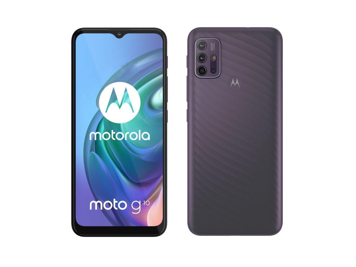 Motorola Moto G10 Header