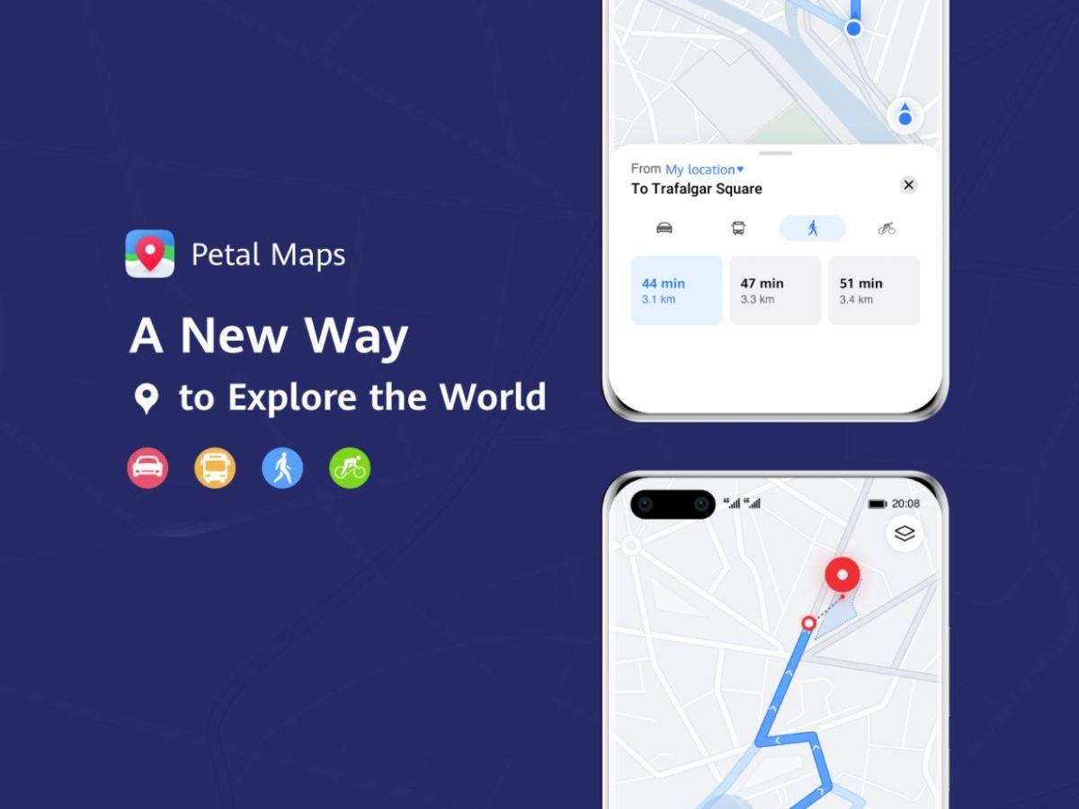 Petal Maps Update Feb 2020 Fuß, Bus Bahn