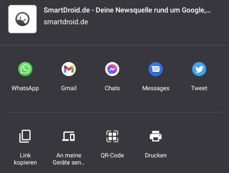 Qr Chrome Android