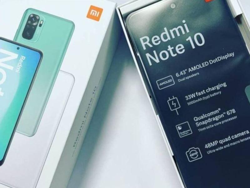 Redmi Note 10 Leak