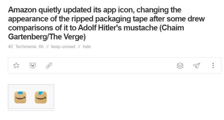 Amazon App Logo Verge Titel