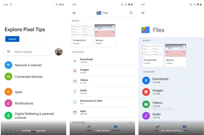 Android 12 Google Apps Mockups (2)