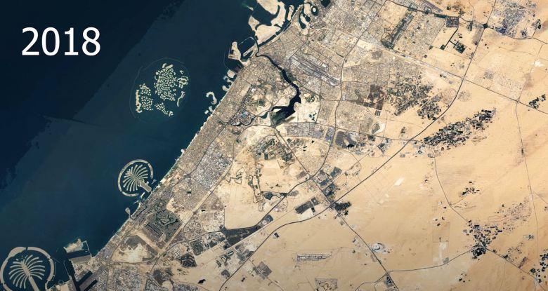 Dubai 1984 Und 2018 (2)