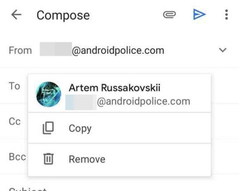 Gmail Neue Kopieren Funktion