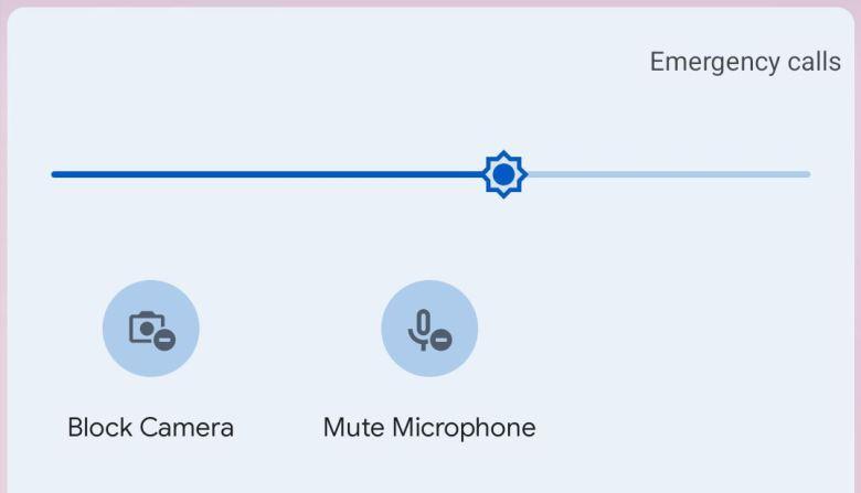 Schnellzugriffe Kamera Und Mikrofon Block