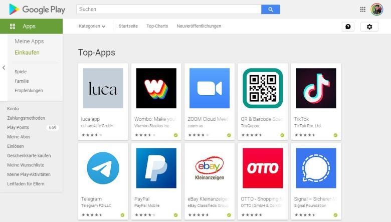 Wombo App Charts
