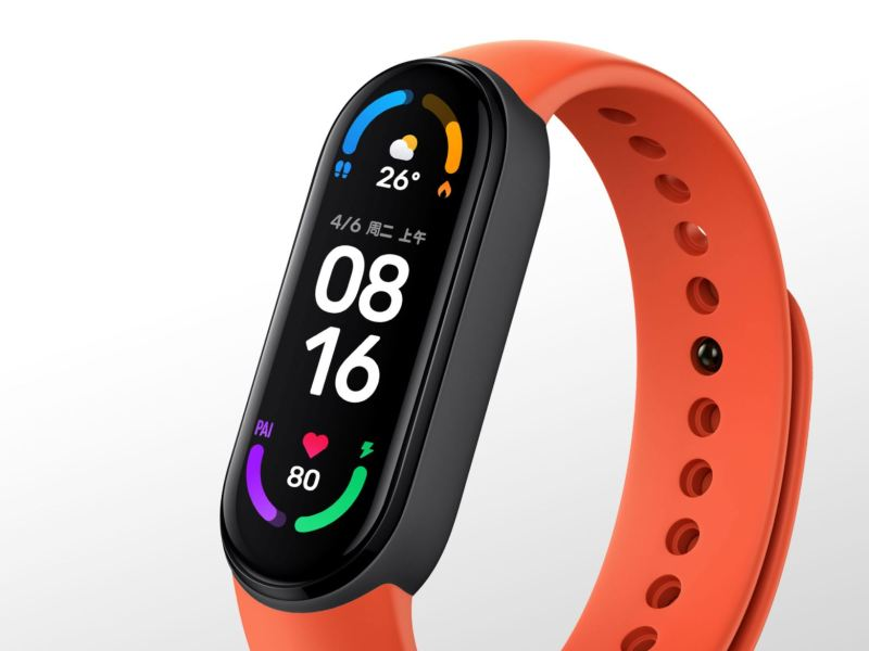 Xiaomi Mi Band 6 Display