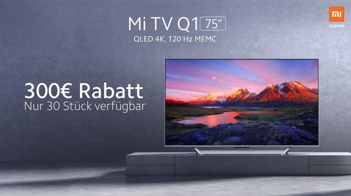 Xiaomi Mi Tv Q1 75 Angebot