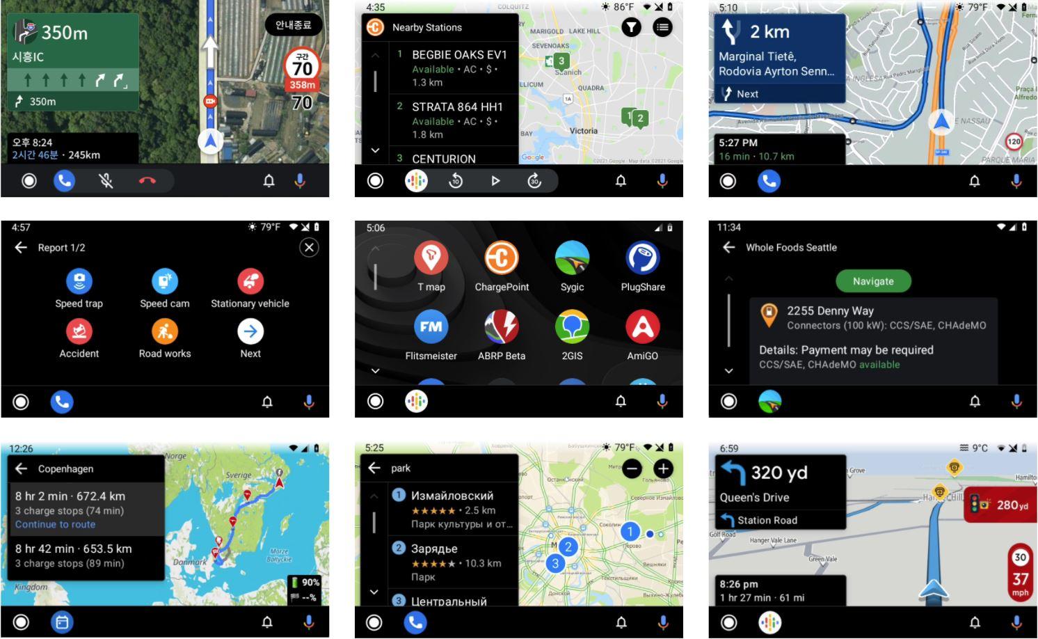 Android Auto: Das sind die Alternativen zu Google Maps und Waze