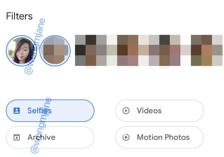 Google Fotos Filter Leak 2