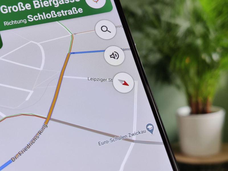 Google Maps Navigation Kompass Head