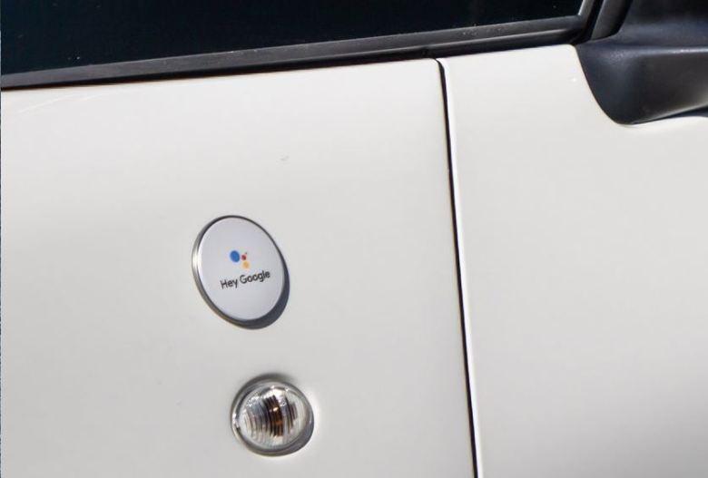 Hey Google Fiat 500 Emblem