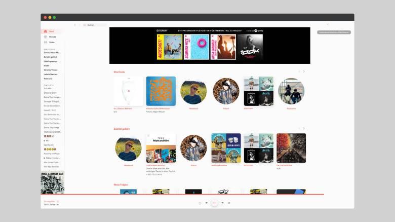Spotify Spicetify Design Frontpage