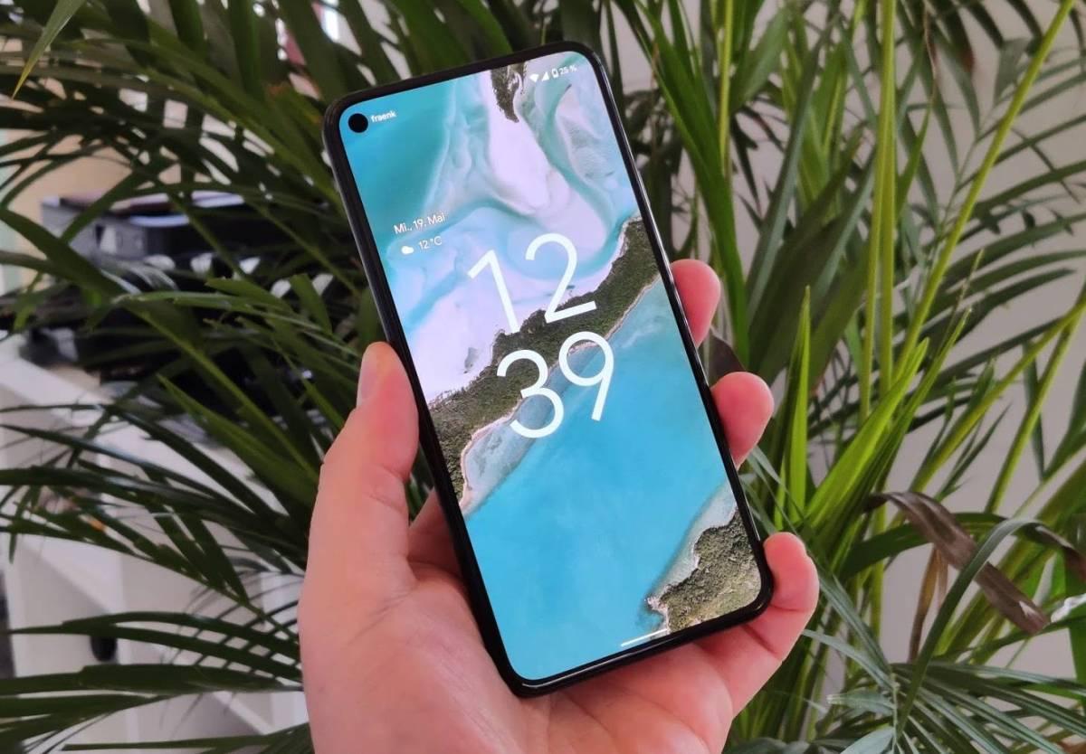 Android 12 Sperrbildschirm
