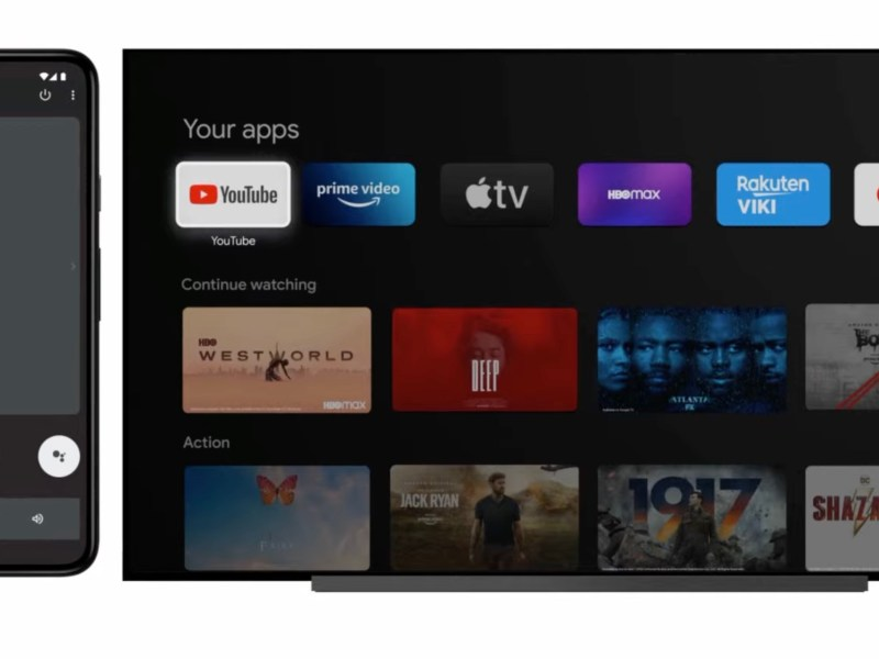 Android Fernbedienung Google Tv