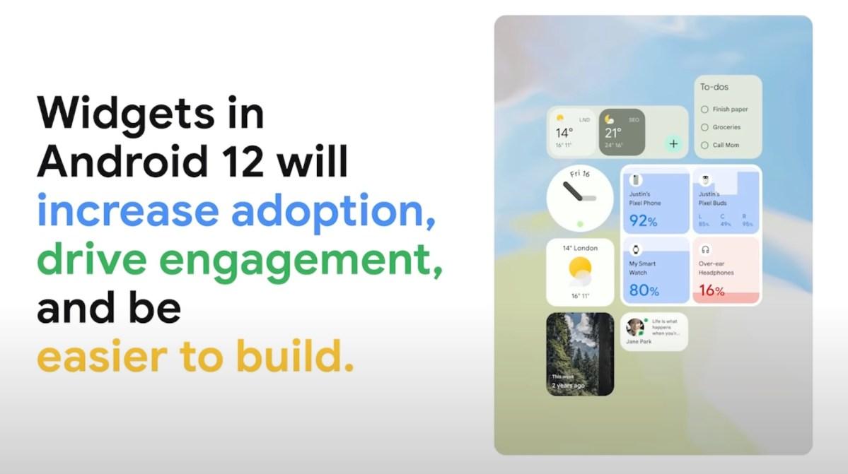Android 12 Widgets