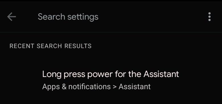 Google Assistant Longpress Android 12 Leak