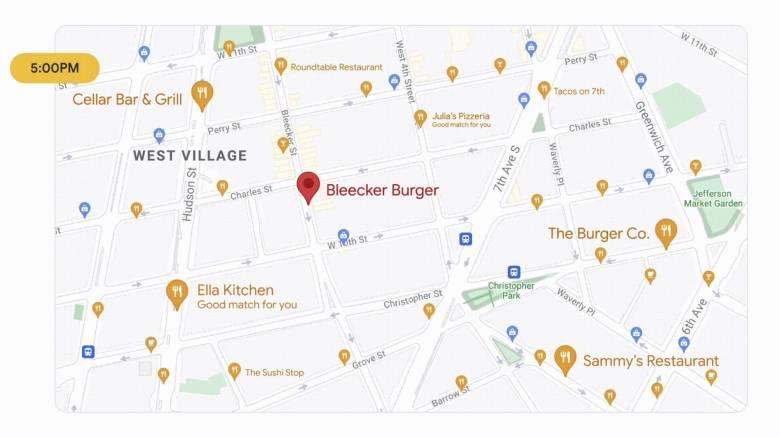 Google Maps Pois Nach Uhrzeit