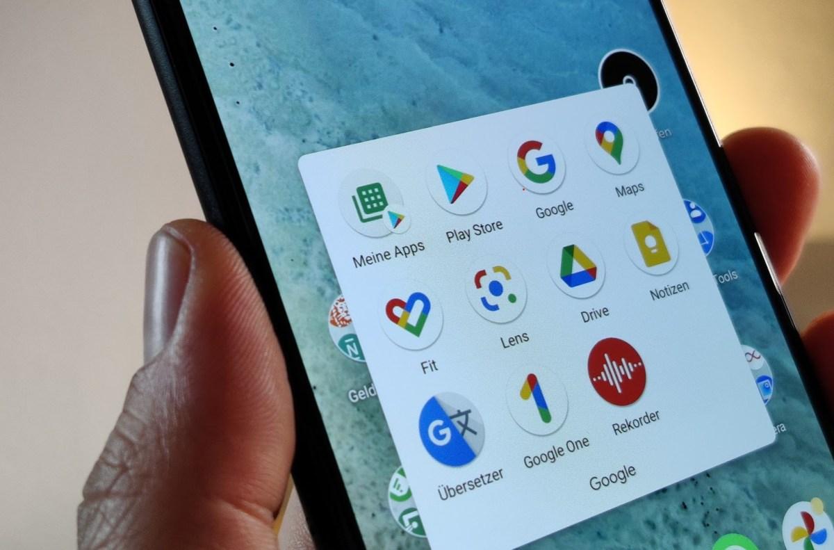 Google Play Store Meine Apps Shortcut