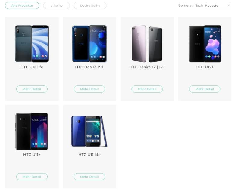 Htc Webseite Smartphones